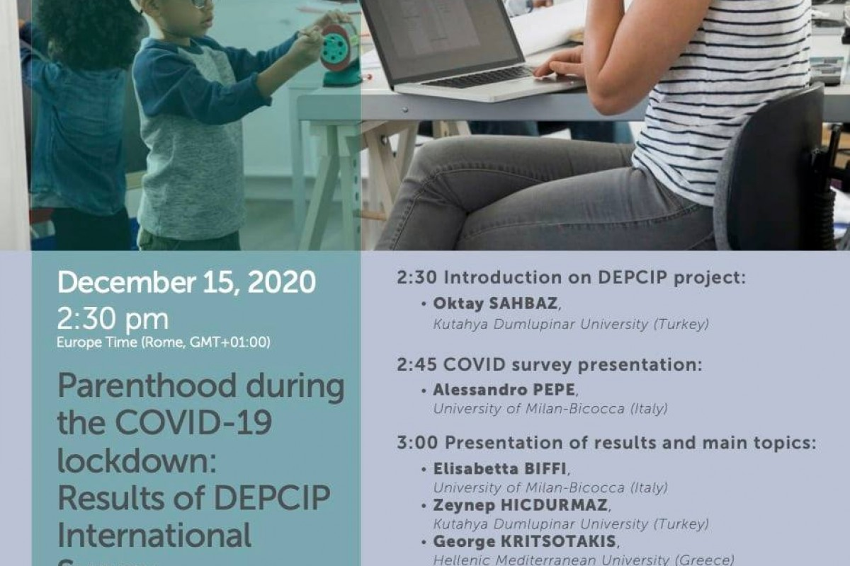 Parenthood during the COVID-19 lockdown. Results of DEPCIP International Survey